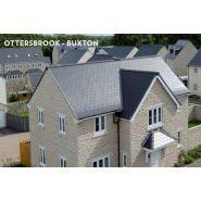 Bravan Structurée 42110001 - Ardoise pour la toiture - Cembrit - dimension 4x400x240 mm