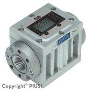 K600/4 - débitmètre électronique carburant - piusi spa - liquide : biodiosel, gasoil - il à engrenages ovales