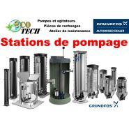 Stations de pompage grundfos distribué par eco-tech pompe normandie bretagne
