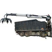 R 150 s3l grue auxiliaire - bob spa - capacité de levage 150 knm
