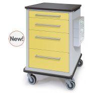 C-Series - Chariot médical - Capsa Healthcare - Surfaces lisses