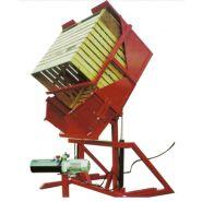 ESPECIAL - Retourneur de conteneurs et poubelles  - Novodinámica - Triphasé 142º pour conteneurs