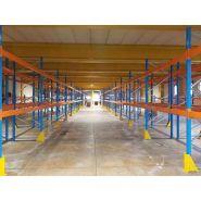 Profilpal - rayonnage et rack à palette - sas diplex - charge max par niveau 4500 kg