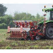Flex-evo - semoir agricole - mascar s.p.a. - système à extensions double télescopique