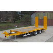 PB12G1 - Remorque plateau pour poids lourd - Fournier - 2 essieux