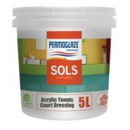 Permoglaze acrylic tennis court dressing - peinture de sol - sofap - logement 5 l