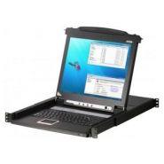 Aten cl1008m console kvm lcd 17' simple rail 8 ports vga/ps2