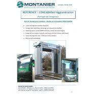 Portique de lavage concarneau - montanier - 1 piste