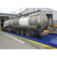 Bac de rétention plastique souple pliable 52500 litres