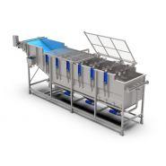 Laveur à Aubes - Laveuses industrielles alimentaires - Bruynooghe - Construction en inox 304L