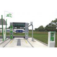 Portique de lavage Privilège - Oki - Hauteur 2.30 à 2.70 m - Largeur de passage 2.40 m