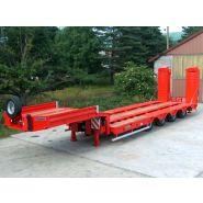 Sr59g1 - semi remorque 4 essieux ptc : 70t