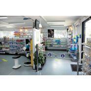 Bulles de ventes et magasin modulaire