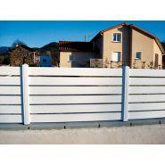 Clôture pacifique - Morey production - En PVC - Hauteur : 720 mm et 1000 mm