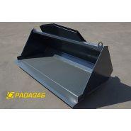 Ktc-110 - godet de construction - padagas - capacité : 1,1 m3