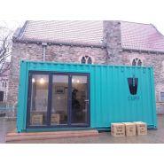 Container bar portes couilissantes   20' pieds