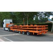 Remorque plateau pour poids lourd - Fournier - Ptc 32t