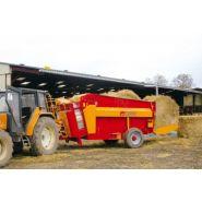 5700 Pailleuse agricole trainée - Gyrax - Volume: de 4 à 16,7 m³