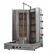 DONNER GRILLS - GAMME DOUBLE PUISSANCE - GAZ - 150 KG/ JOUR PROFESSIONNEL