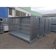 Racks de stockage grillages - cbs btp - dimensions 3.10 m (l) x 1.85 m (l) x 1 m (h)