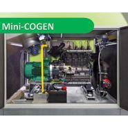 Mini-cogen - cogénération - e. van wingen - investissement pour 30.000 à 70.000 kwhe par an