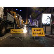PANNEAU DE ROUTE BARREE/ LOCATION ET VENTE