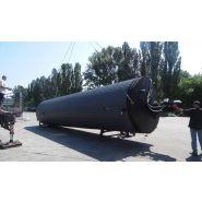 La structure perfectionnée de réservoirs SBM-15 et SBM-30 de stockage de bitume modifie - Globe core - Volume opérationnel : 15,5 à 30 mètre cube