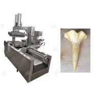 Machine de cornet de crème glacée - Henan Gelgoog - Capacité 2500-3000pcs/h