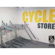 Rack vélo à double étage
