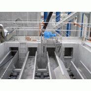 Racleurs de bassins de décantation - akis - longueur maximale par racleur de 80m