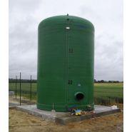 Cuves de stockage pour engrais liquide pente 0% - Maitre-simonneau - Capacité : 21 à 102 m3