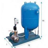 Surpresseur 200 litres pompe inox en 380v réf. k200vngx418rld