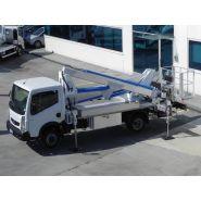 Mx235 camion nacelle -  multitel - 23,50 m
