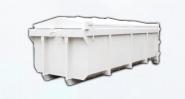Bennes à déchets grands volumes ouverte 15m3 avec capot coulissant