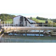 Racleurs de bassins de décantation - Europelec - Échelle de sécurité et/ou d'accès avec ou sans portillon