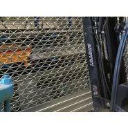 Grille de protection d'entrée - Douville 1927 - grille roulante en tubes ondulés