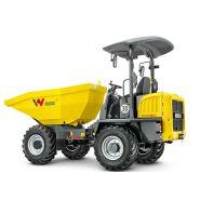Dw50 dumper sur pneu - wacker neuson - 5000 kg