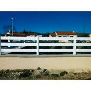 Clôture ranch - Morey production - En PVC - Hauteur : 750 mm et 1000 mm