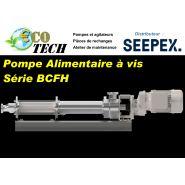 Pompe a vis alimentaire bcfh seepex certificat ehedg  nettoyage stÉrilisation