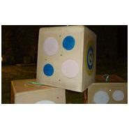 Wf nc 2 - cible de tir à l'arc - natur'foam -  h : 45 cm