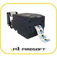 Imprimante d'étiquette couleur : dtm cx86e