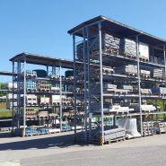 Rayonnage et rack à palette - OHRA Regalanlagen GmbH - Avec toiture