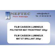 FILM D'IMPRESSION POUR CAISSON LUMINEUX