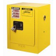 JU040 - Armoire de sécurité pour produits inflammables - Delahaye industries - Capacité : 15 L - Résistance au feu 15min