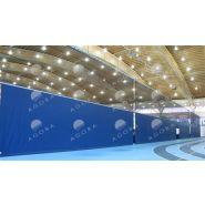8500 - C-ROLL - Rideau diviseur - Agora sport - A commande électrique
