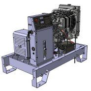 K9 groupes électrogènes industriel - sdmo - tension de référence (v) 400/230