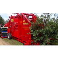 Récolteuse de cerise et prunes felix z - weremczuk - puissance du tracteur min 80 hp - vitesse du travail 0.5 à 1 km/h
