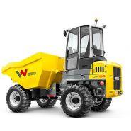 Dw100 dumper sur pneu - wacker neuson - 10000 kg