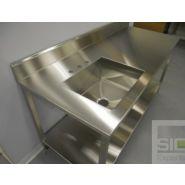 SIC30822A - Évier laboratoire - SIC experts - Acier inoxydable
