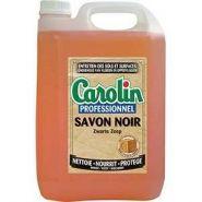 CAROLIN SAVON NOIR À L'HUILE DE LIN 5L